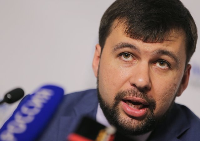 Denis Pushilin, inviato DNR a Minsk