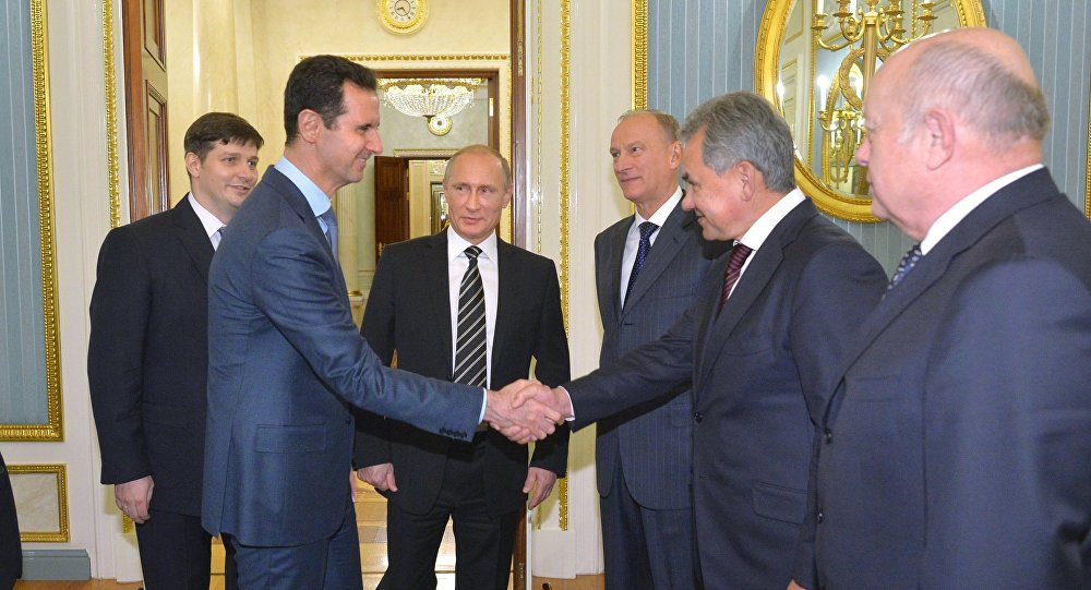 Bashar Assad in visita al Cremlino da Vladimir Putin