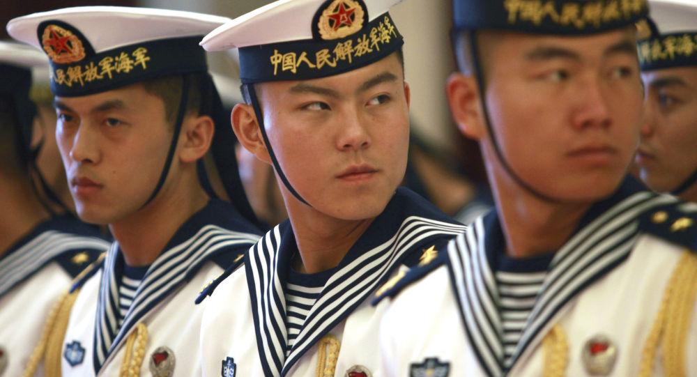Militari delle forze navali cinesi