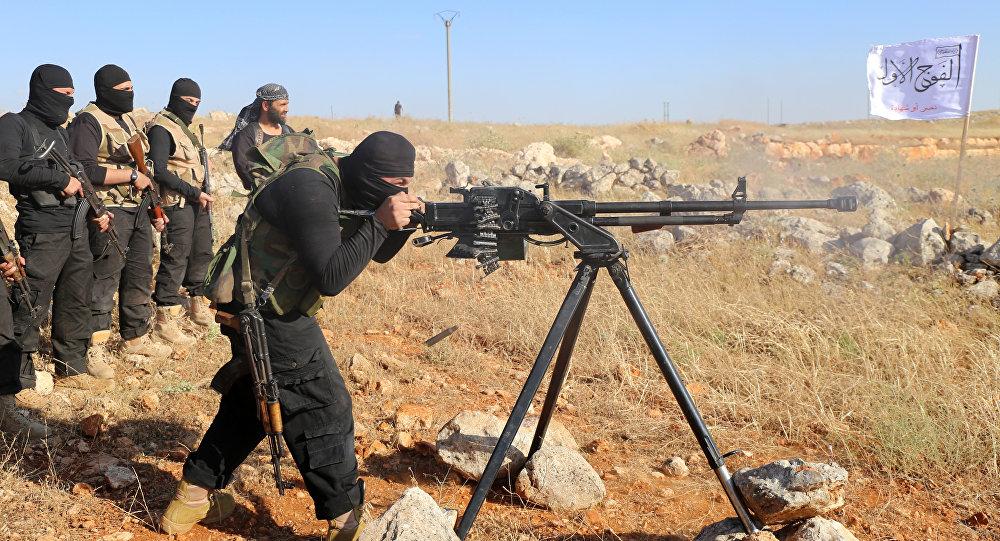 Combattenti dell'Esercito Libero Siriano (foto d'archivio)