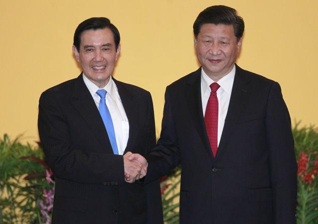 Incontro tra Ma Ying-jeou e Xi Jinping