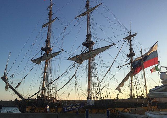 La fregata Shtandart di Pietro il Grande