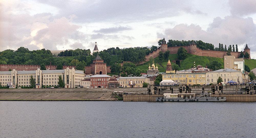 Veduta di Nizhny Novgorod