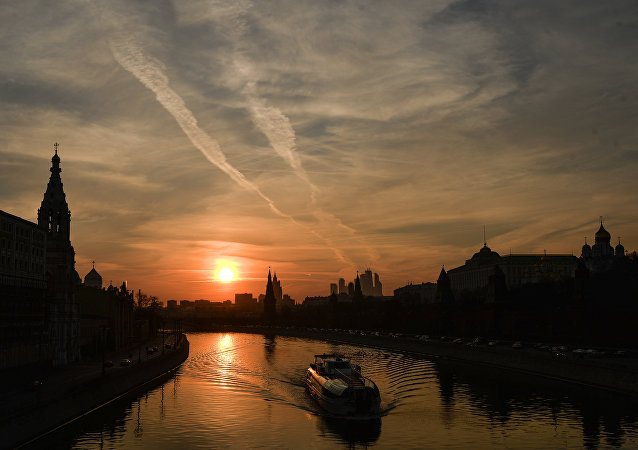 Mosca, sera d'estate