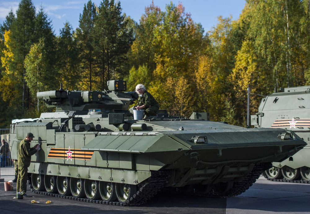 Super armamenti della Russia.