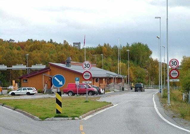 Valico di frontiera russo-norvegese di Storskog