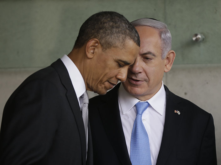 Barack Obama e Benjamin Netanyahu