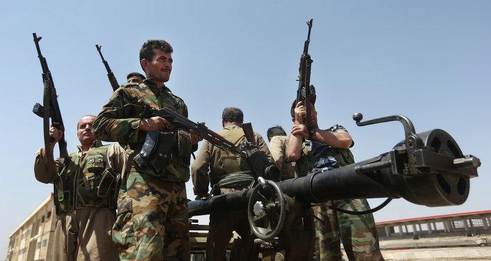 Peshmerga curdi