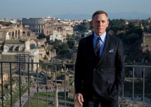 Daniel Craig - James Bond a Roma