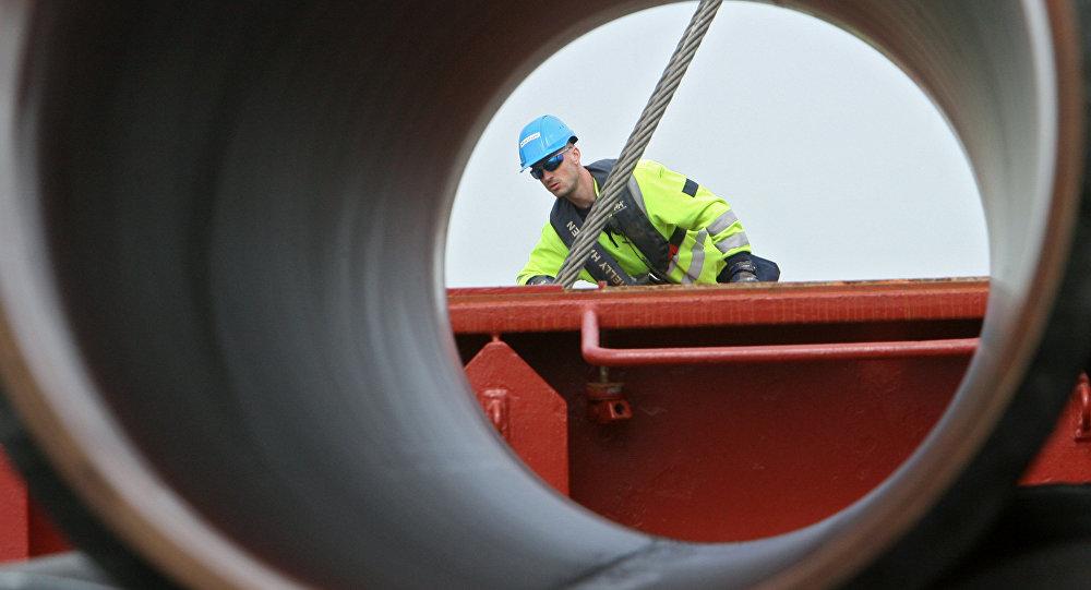 Costruzione gasdotto