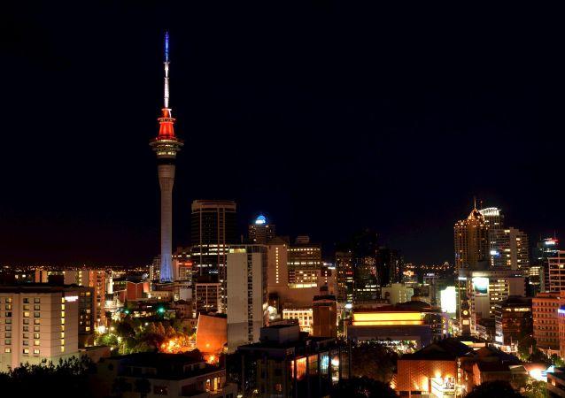 La città di Auckland in Nuova Zelanda