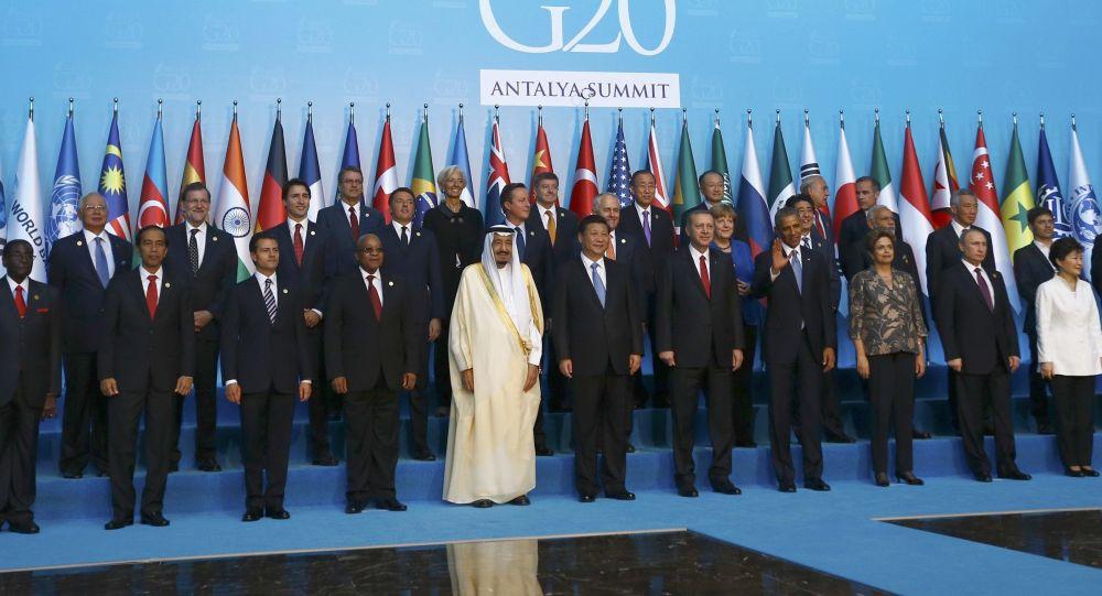Leader dei Paesi del G20 in Turchia (foto d'archivio)
