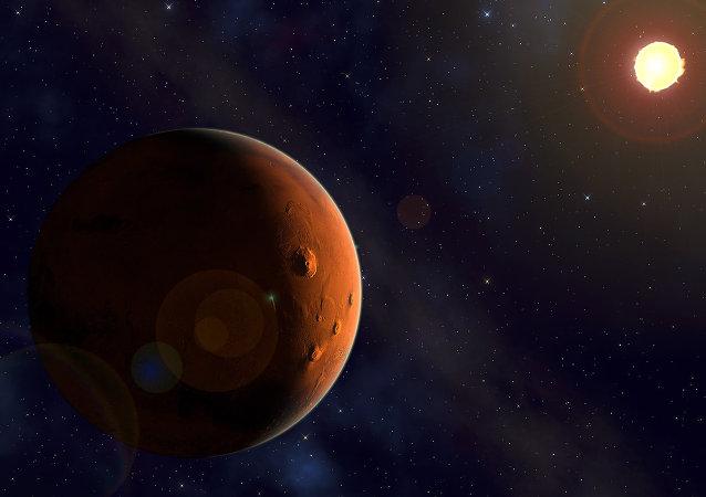 Marte e il Sole