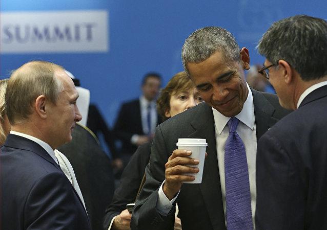 Obama e Putin al G20