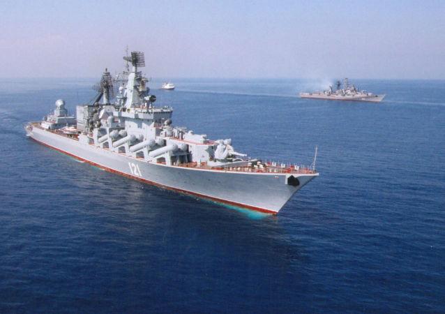 Navi della Flotta del Mar Nero (foto d'archivio)