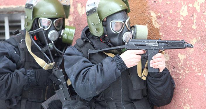 Forze speciali antiterrorismo
