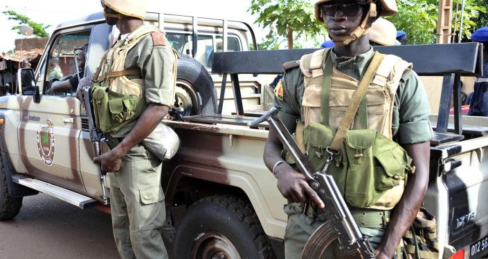 Soldati in Mali