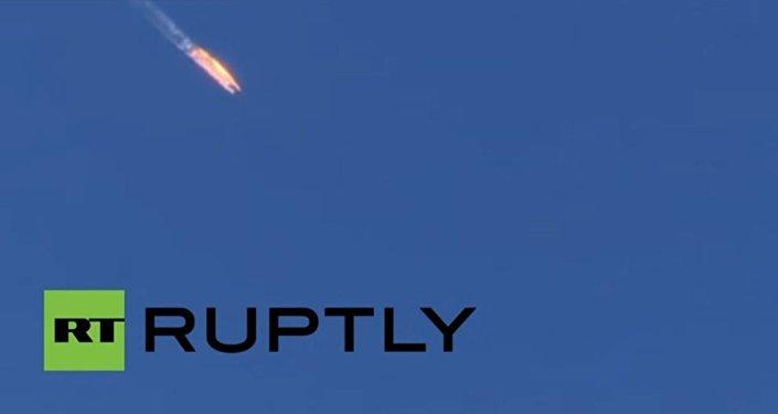 Su-24 precipita su terra
