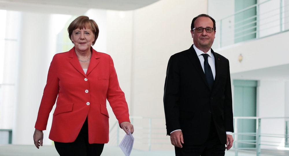 Hollande-Merkel, tutta responsabilità pesa su Assad