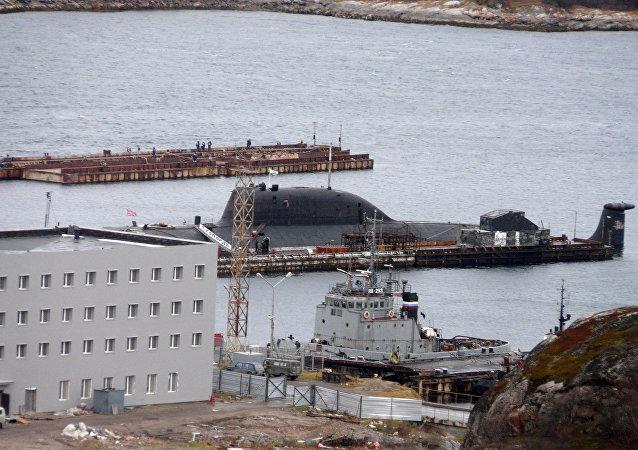 Il sottomarino russo Ghepard