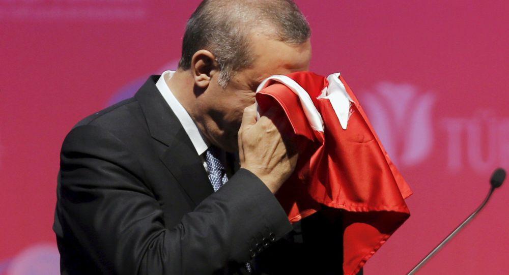 Presidente della Turchia Tayyip Erdogan