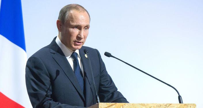 Putin alla conferenza dellONU sul clima a Parigi