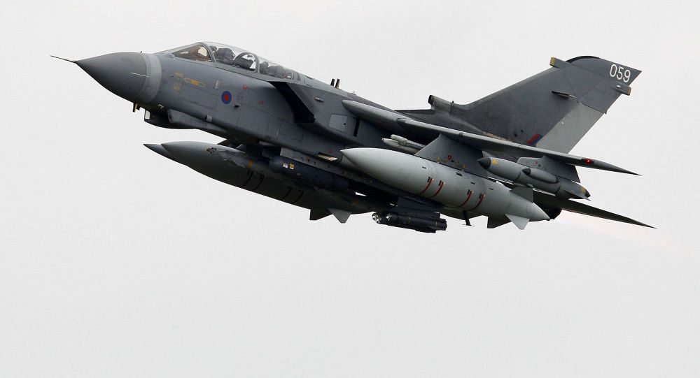 Tornado della Royal Air Force (foto d'archivio)