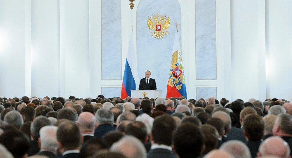 Vladimir Putin all'Assemblea Federale