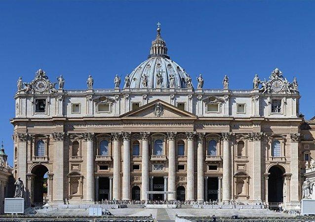 La basilica di San Pietro