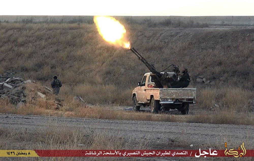 Le armi dei terroristi del Daesh.