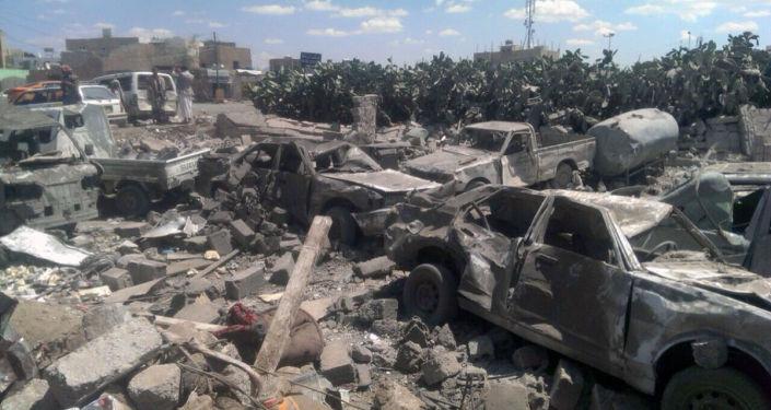 Un'immagine di San'a, capitale dello Yemen