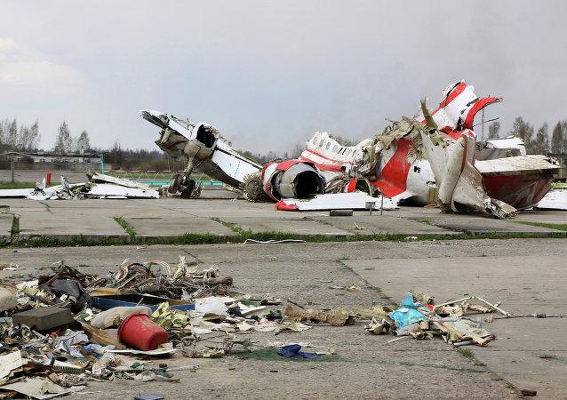 Rottami aereo presidenziale polacco, Smolensk
