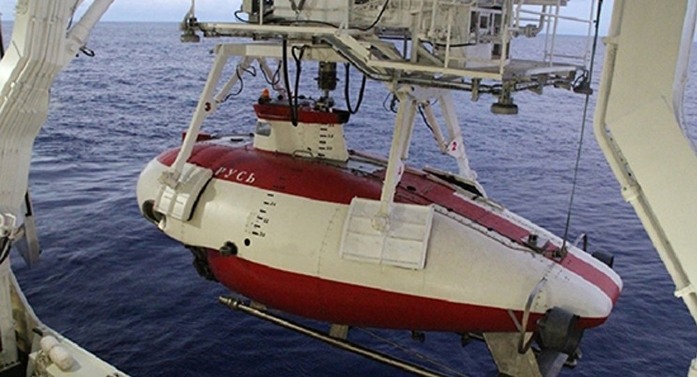 La sonda subacquea testata Rus