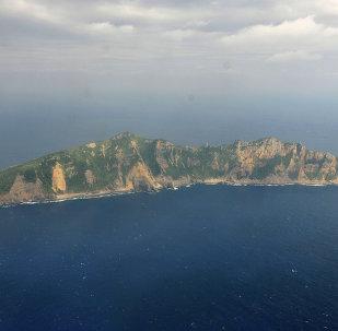 Una delle isole al centro della disputa tra Cina e Giappone nell'arcipelabio Senkaku (in giapponese) e Diaoyu (in cinese).