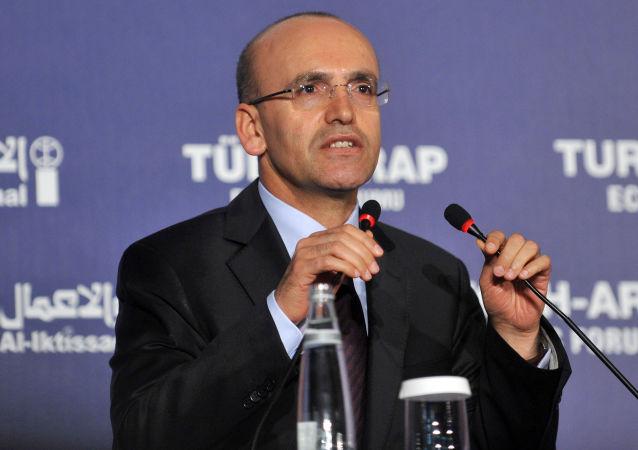 Vice premier della Turchia Mehmet Şimşek