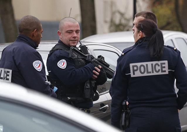Polizia francese (foto d'archivio)