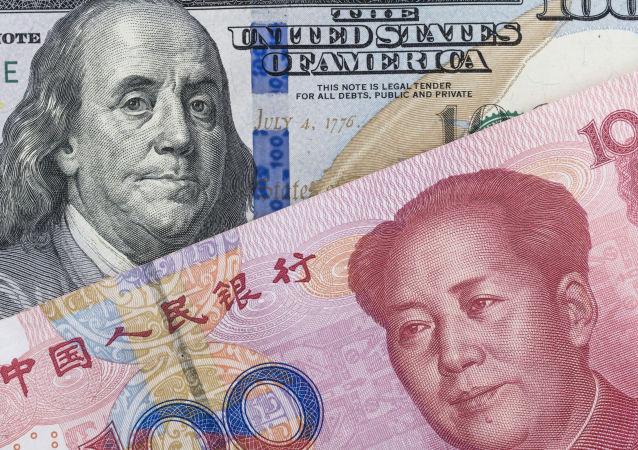 Yuan cinese e dollaro americano