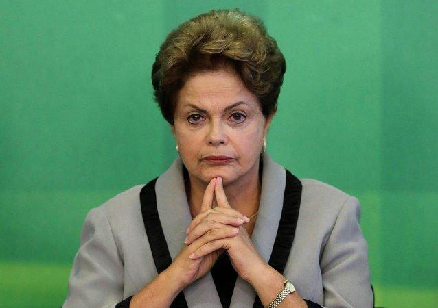 Dilma Rousseff, ex presidente del Brasile