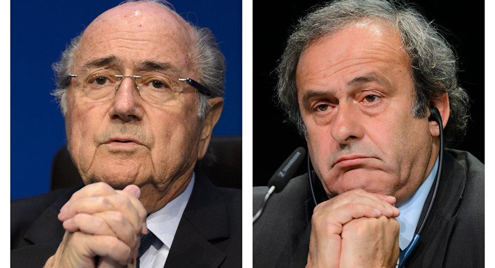 Sepp Blatter e Michel Platini