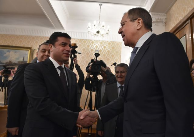 Incontro a Mosca tra Sergey Lavrov e Selahattin Demirtas del partito turco Hdp