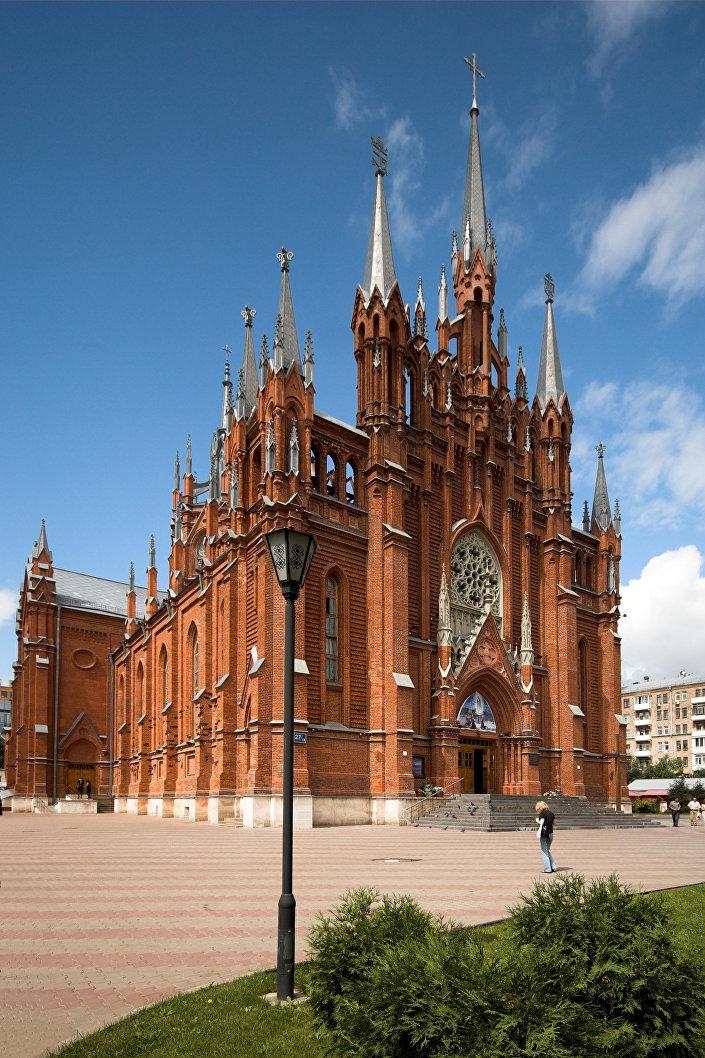 La cattedrale dell'Immacolata Concezione a Mosca
