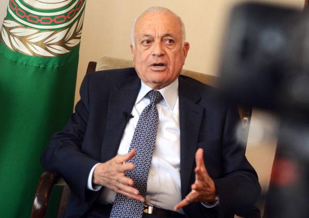 Segretario della Lega Araba Nabil Elaraby