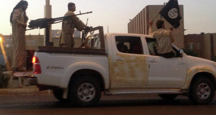 Combattenti del Daesh a Mosul (foto d'archivio)