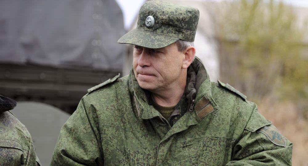 Eduard Basurin, vice comandante milizie DNR (Donbass)