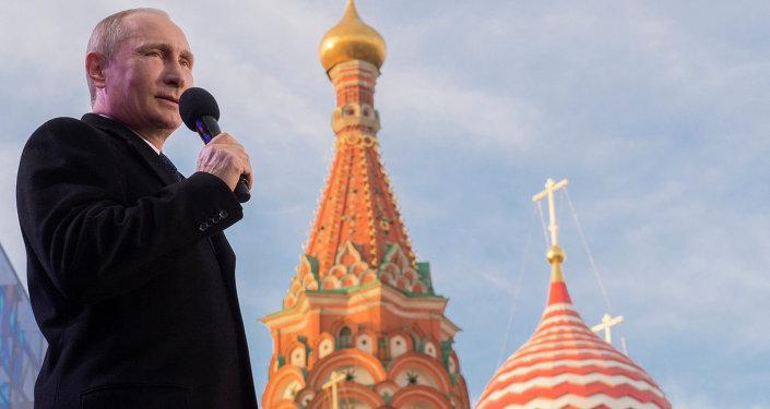 Vladimir Putin, Cremlino