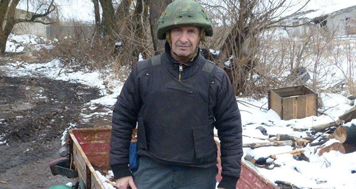 Eliseo Bertolasi a Donetsk