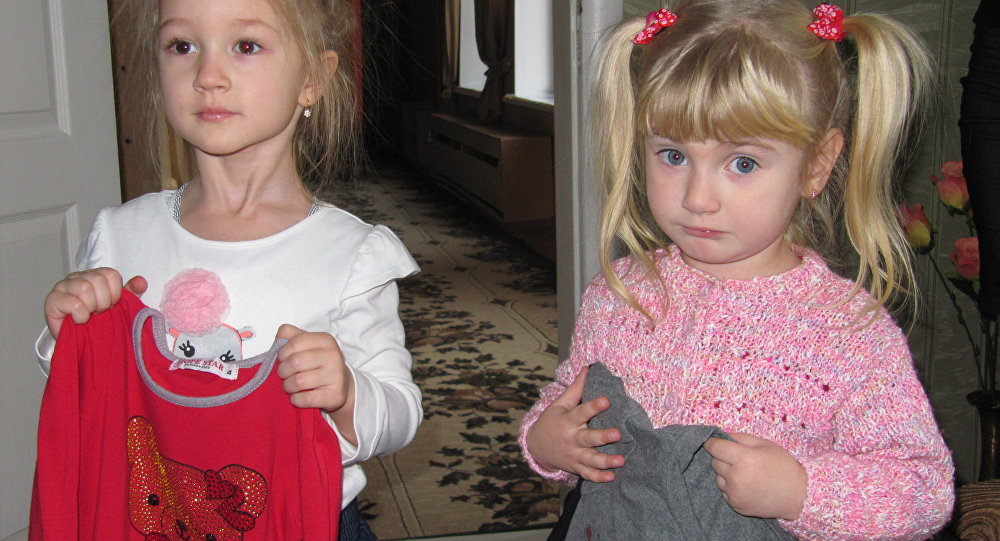 Bambini a Gorlovka