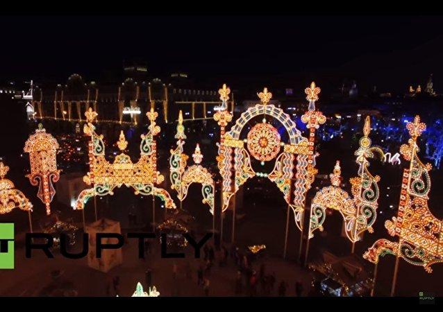 Mosca illuminata