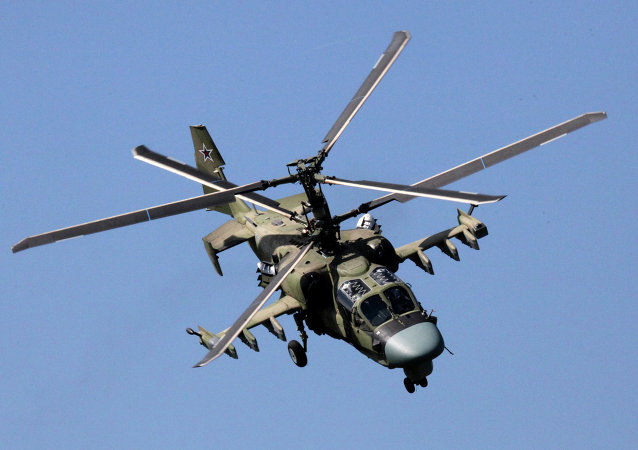 Elicottero d'attacco Ka-52 (foto d'archivio)