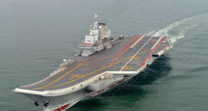 Portaerei della Marina Militare cinese Liaoning  (foto d'archivio)